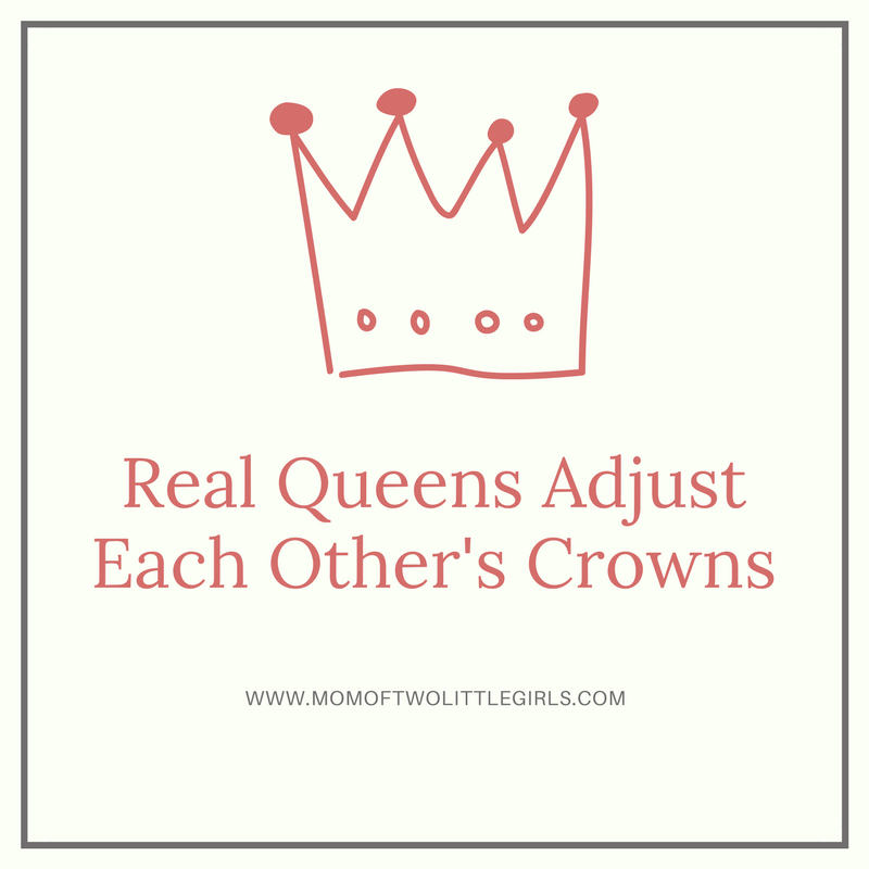 Real Queens Adjust Each Others Crowns