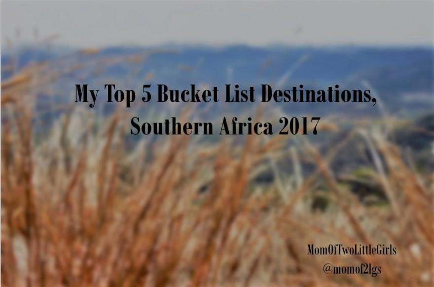 Bucket List Southern Africa