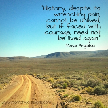 -History, despite its wrenching pain, cannot be unlived, but if faced with courage, need not be lived again.-