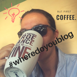 I blog on the move - #wheredoyoublog?