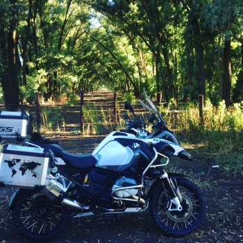 BMW GS 1200 Adventure Motorbike Free State South Africa