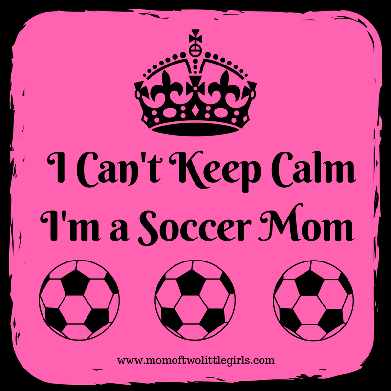 I Cant Keep Calm Im a Soccer Mom
