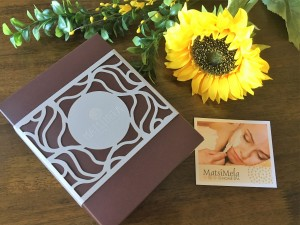 Matismela Home Spa Gift Box
