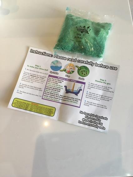 Zimpli Kids Green Baff Slime Instruction Manual.