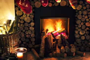Christmas Traditions - Festive fire